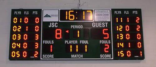basketball scoreboard johnson state college