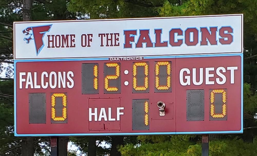 daktronics soccer scoreboard ncuhs