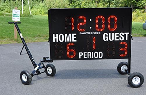 outdoor portable scoreboard