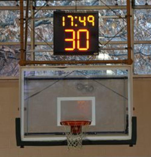 basketball shot clock green mountain college