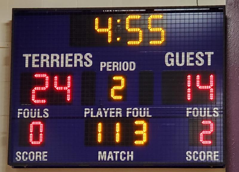 basketball scoreboard BB-2103 bellows falls